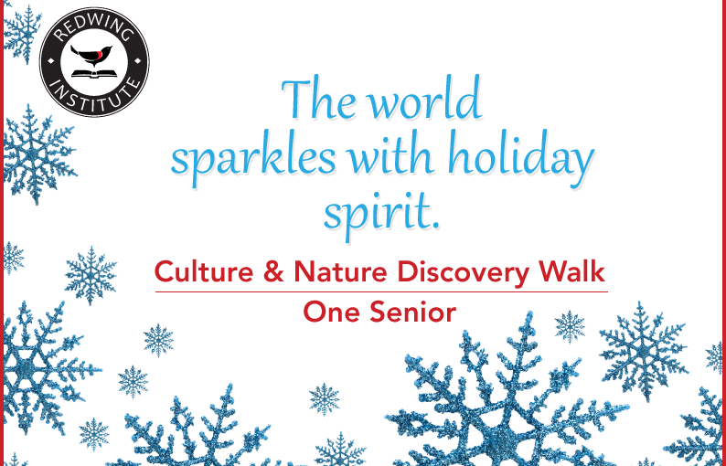 Culture & Nature Discovery Walk - One Senior Gift Experience